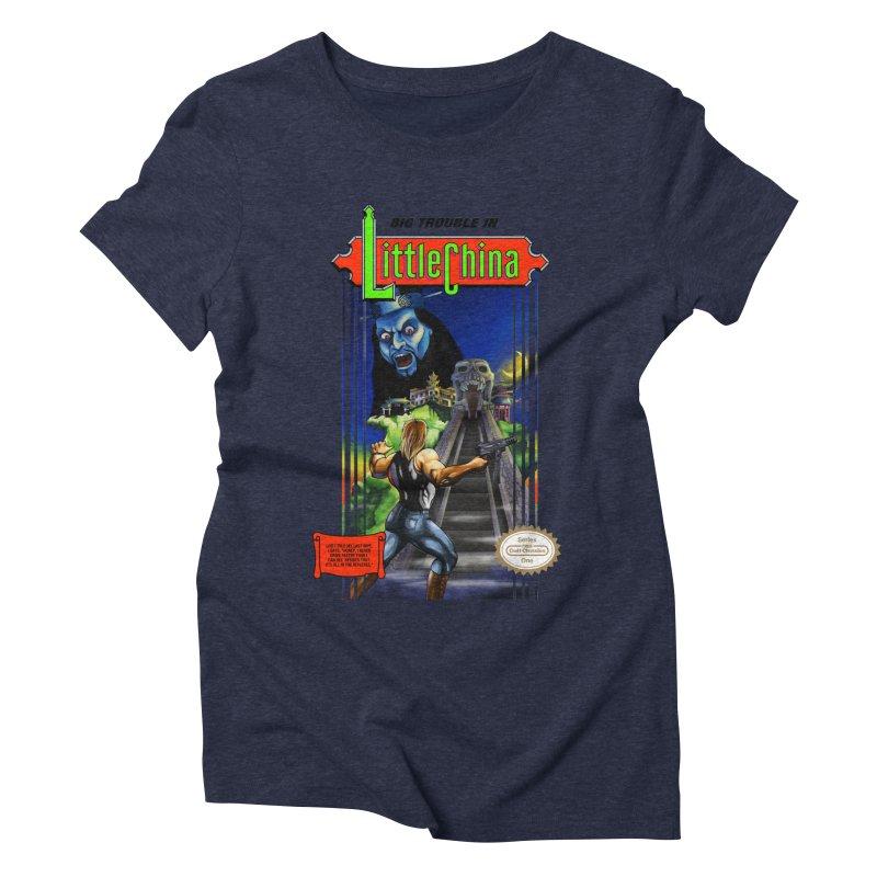 Big Castle In Little Vania Women's Triblend T-shirt by torakamikaze's Artist Shop