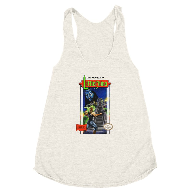Big Castle In Little Vania Women's Racerback Triblend Tank by torakamikaze's Artist Shop