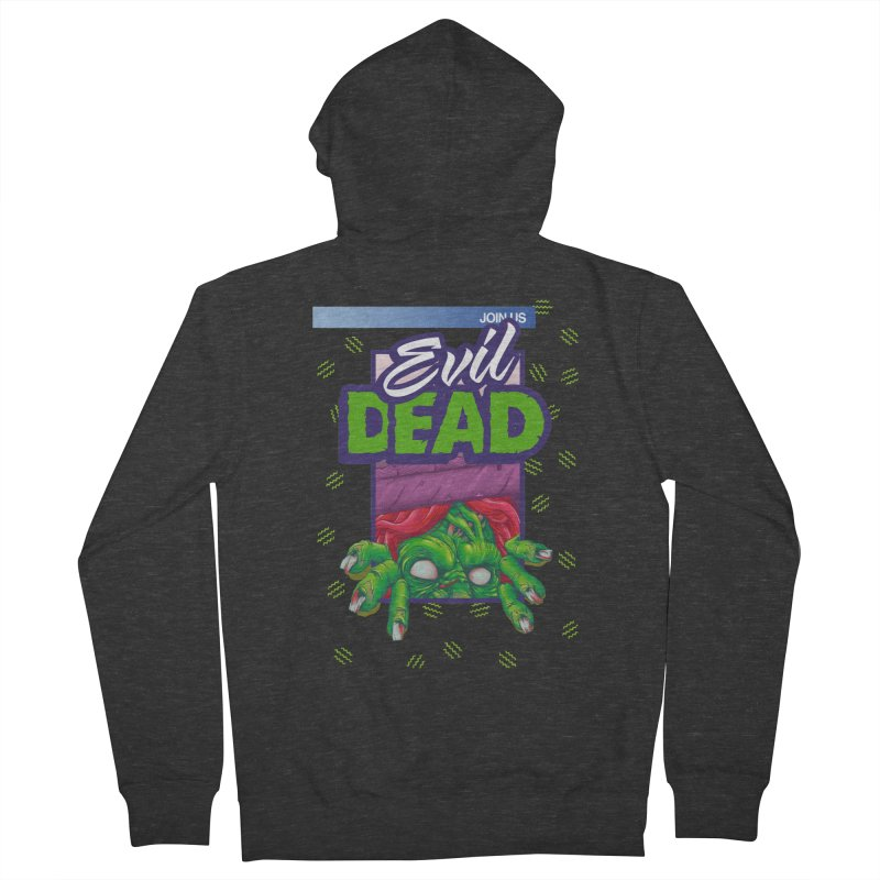 Totally Dead Men's Zip-Up Hoody by torakamikaze's Artist Shop