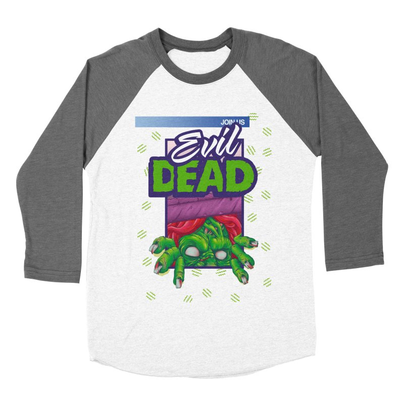 Totally Dead Women's Baseball Triblend T-Shirt by torakamikaze's Artist Shop