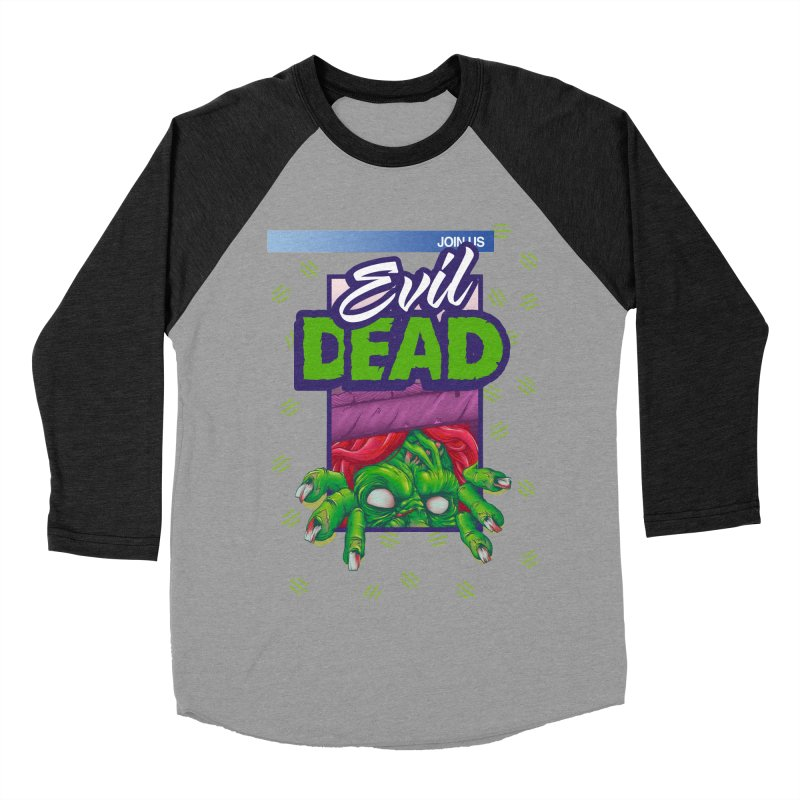 Totally Dead Men's Baseball Triblend T-Shirt by torakamikaze's Artist Shop