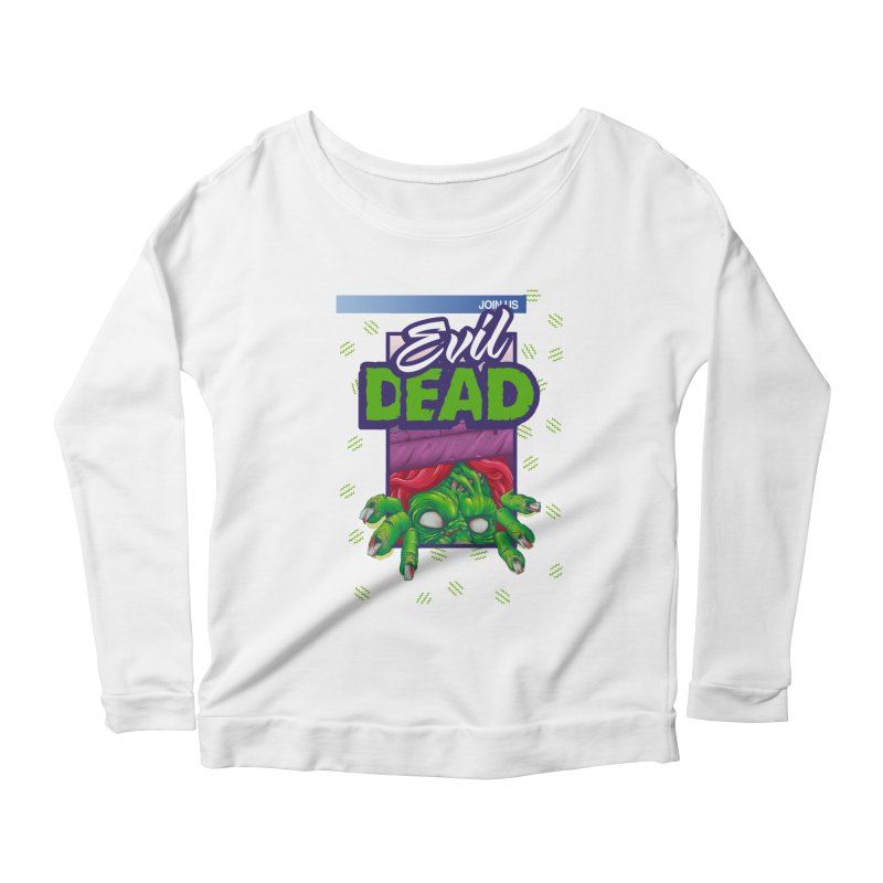 Totally Dead Women's Longsleeve Scoopneck  by torakamikaze's Artist Shop