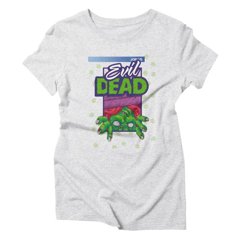 Totally Dead Women's Triblend T-Shirt by torakamikaze's Artist Shop