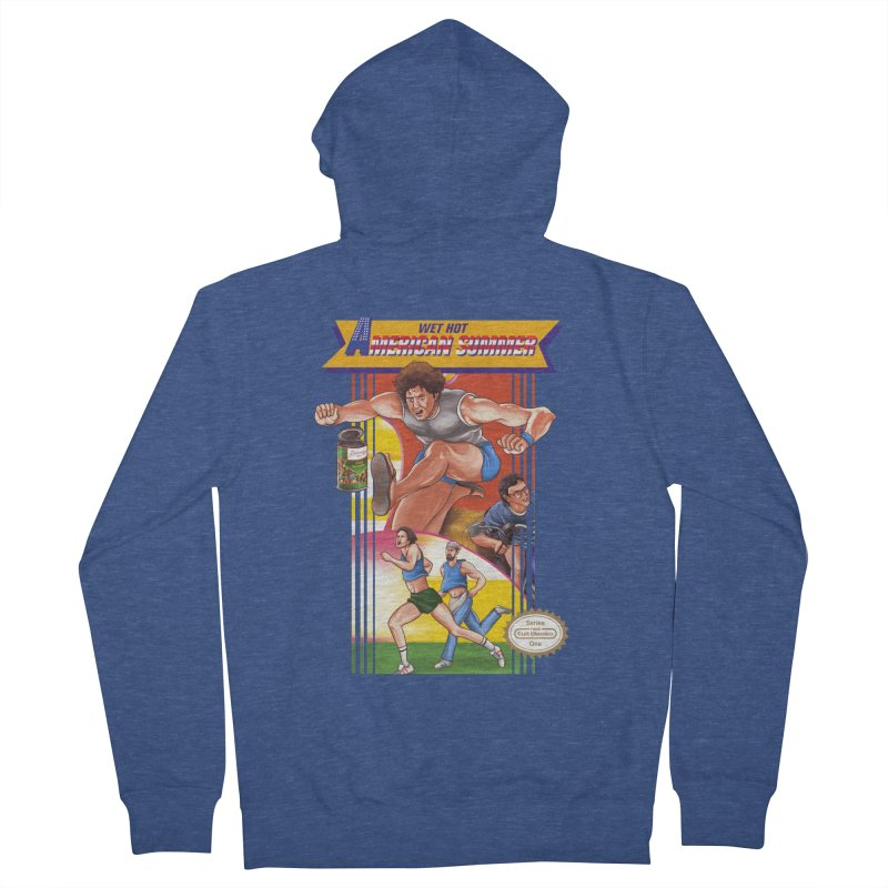 Wet Hot American Track And Field Women's Zip-Up Hoody by torakamikaze's Artist Shop