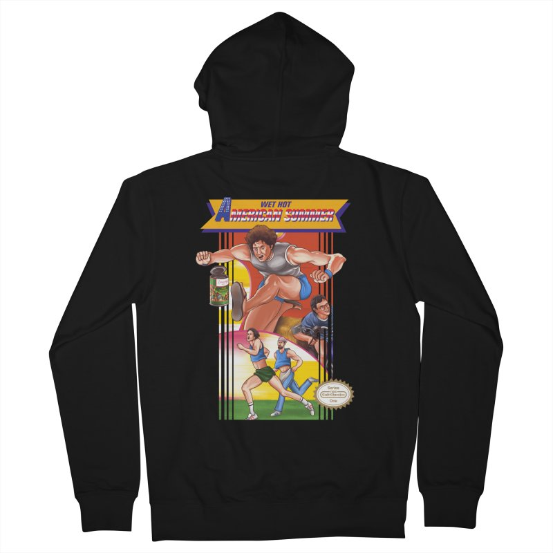 Wet Hot American Track And Field Men's Zip-Up Hoody by torakamikaze's Artist Shop