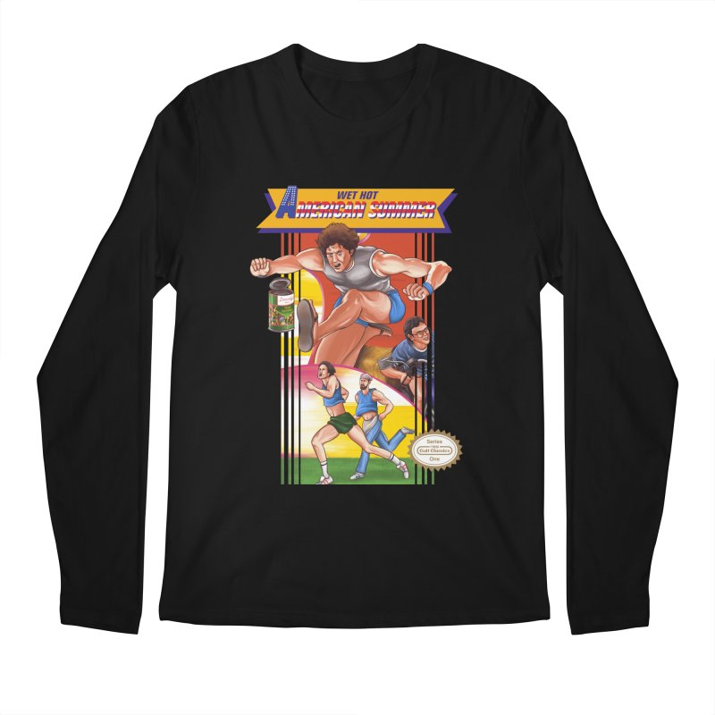 Wet Hot American Track And Field Men's Longsleeve T-Shirt by torakamikaze's Artist Shop