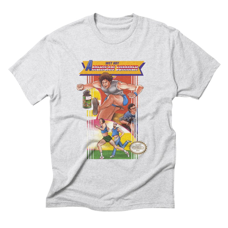 Wet Hot American Track And Field Men's Triblend T-Shirt by torakamikaze's Artist Shop