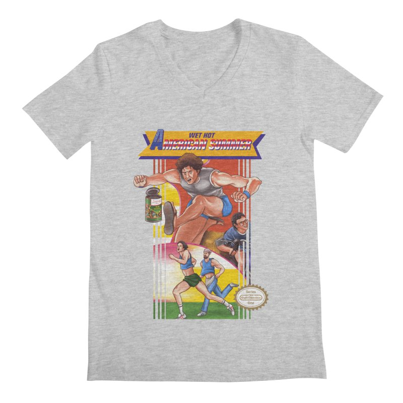 Wet Hot American Track And Field Men's V-Neck by torakamikaze's Artist Shop
