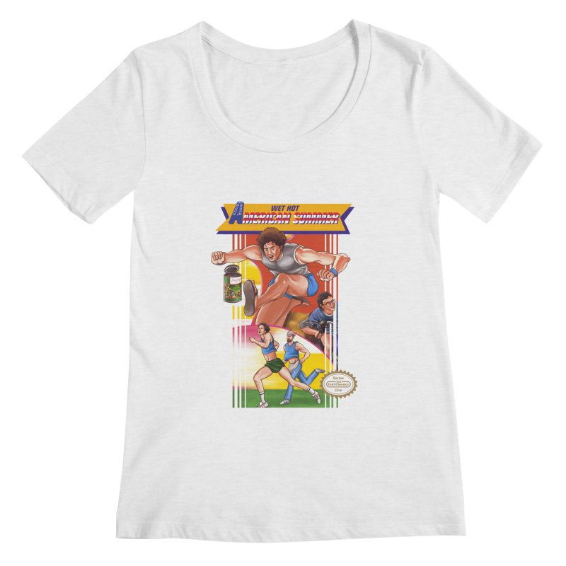 Wet Hot American Track And Field Women's Scoopneck by torakamikaze's Artist Shop