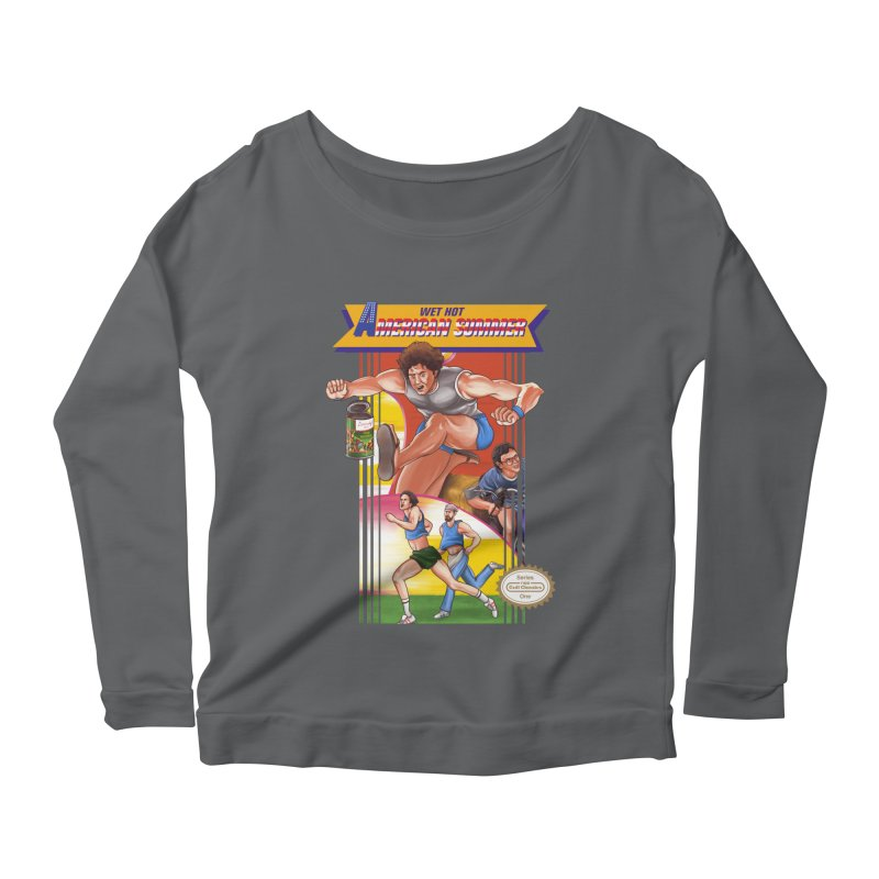 Wet Hot American Track And Field Women's Longsleeve Scoopneck  by torakamikaze's Artist Shop