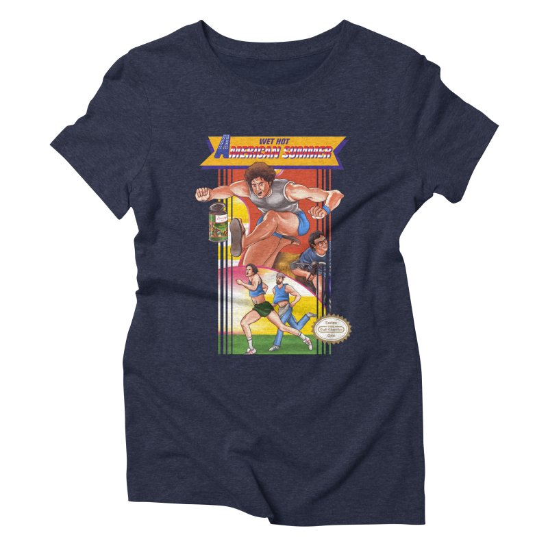 Wet Hot American Track And Field Women's Triblend T-shirt by torakamikaze's Artist Shop