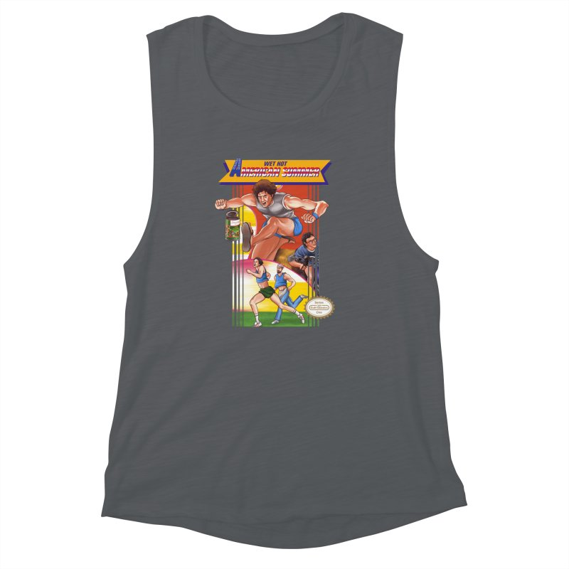 Wet Hot American Track And Field Women's Muscle Tank by torakamikaze's Artist Shop