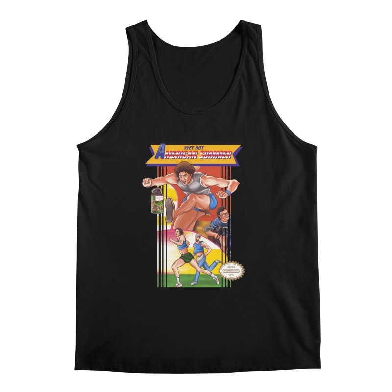 Wet Hot American Track And Field Men's Tank by torakamikaze's Artist Shop