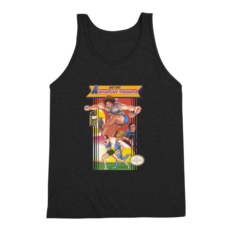 Wet Hot American Track And Field Men's Triblend Tank by torakamikaze's Artist Shop