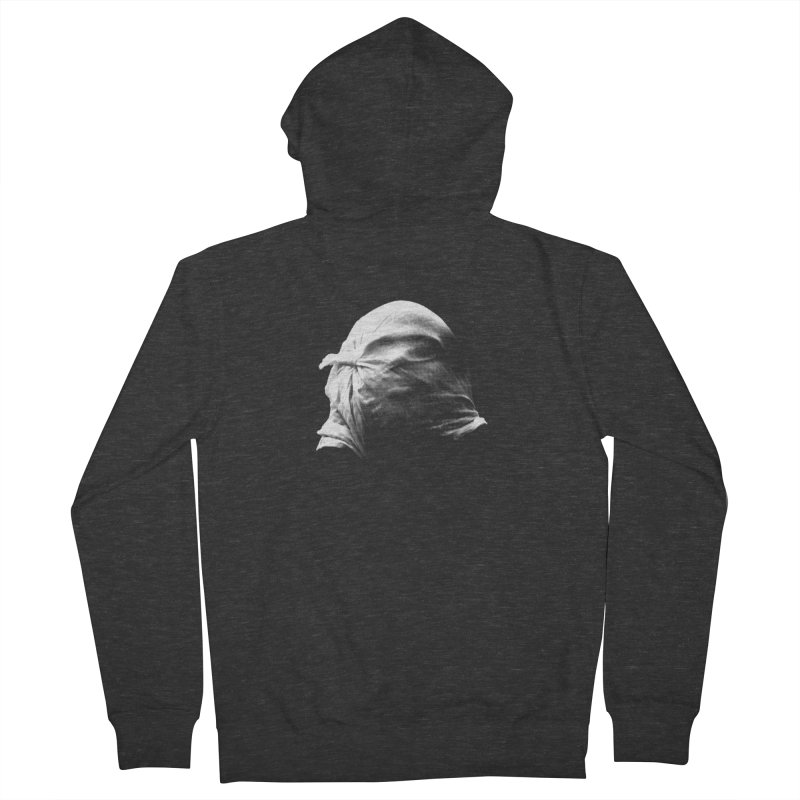 Villager  Men's French Terry Zip-Up Hoody by Torn Space Theater Merch