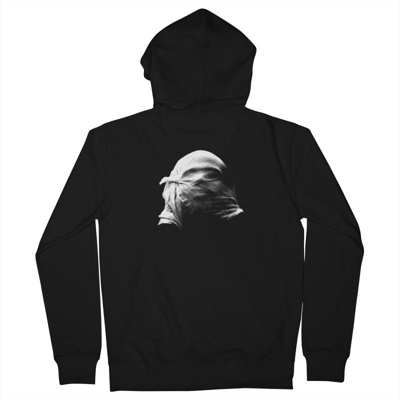 Villager  Men's French Terry Zip-Up Hoody by Torn Space Theater's Artist Shop