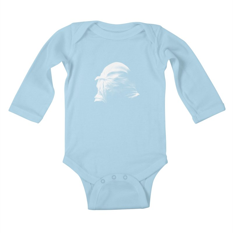Villager  Kids Baby Longsleeve Bodysuit by Torn Space Theater's Artist Shop
