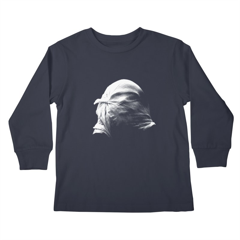 Villager  Kids Longsleeve T-Shirt by Torn Space Theater's Artist Shop