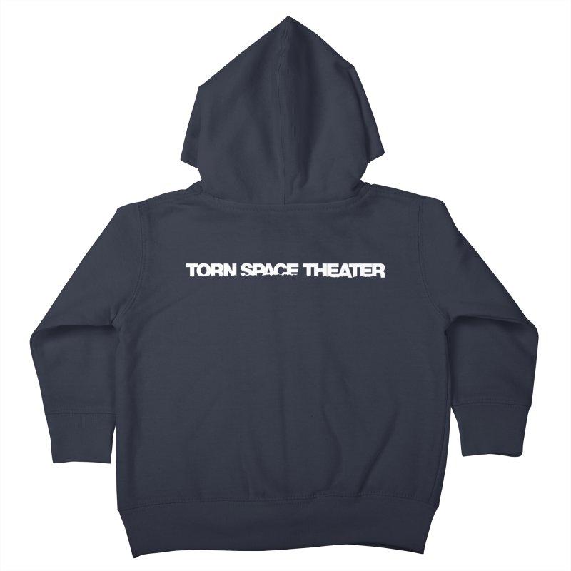 Torn Space Original Logo Kids Toddler Zip-Up Hoody by Torn Space Theater's Artist Shop