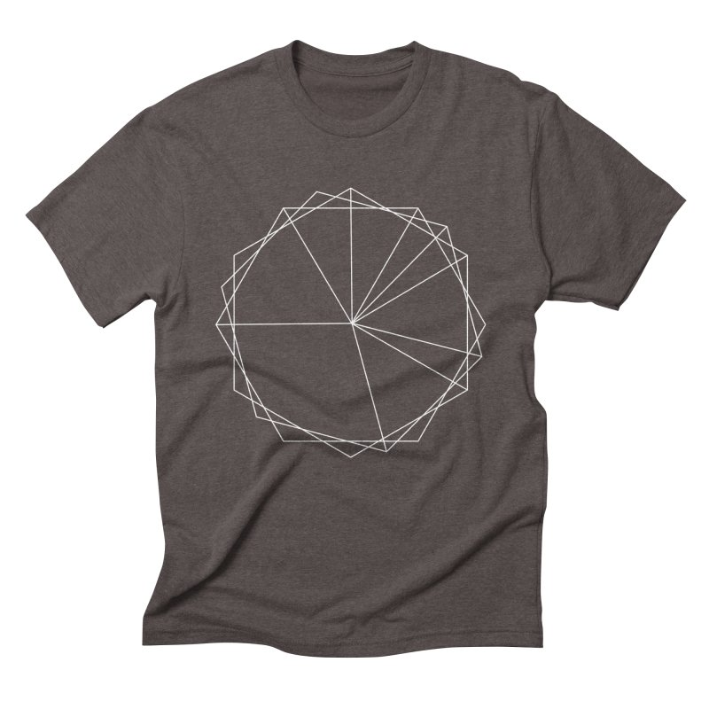 Maypole Symbol I Men's Triblend T-shirt by Torn Space Theater's Artist Shop