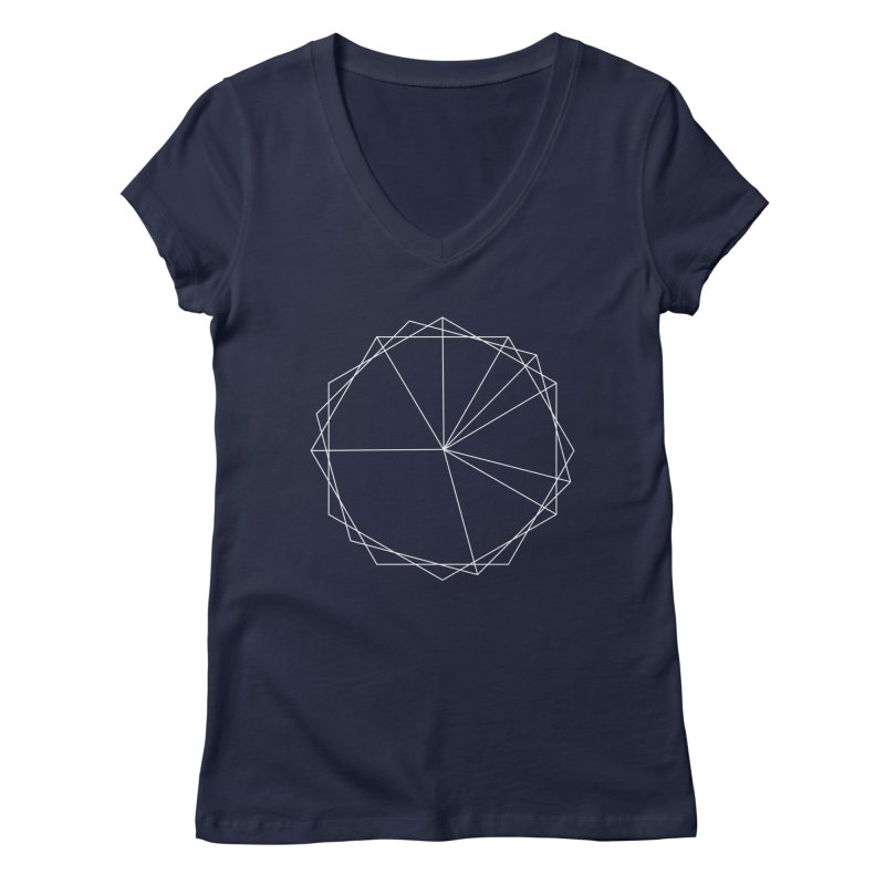 Maypole Symbol I Women's V-Neck by Torn Space Theater's Artist Shop