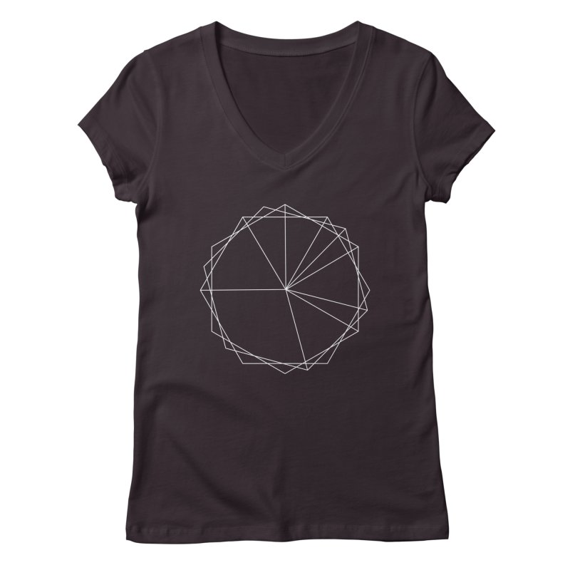 Maypole Symbol I Women's Regular V-Neck by Torn Space Theater's Artist Shop