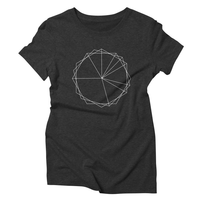 Maypole Symbol I Women's Triblend T-shirt by Torn Space Theater's Artist Shop
