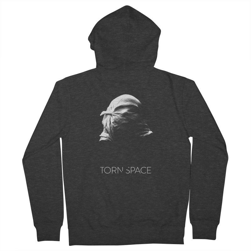 Villager (w/ logo) Men's French Terry Zip-Up Hoody by Torn Space Theater Merch