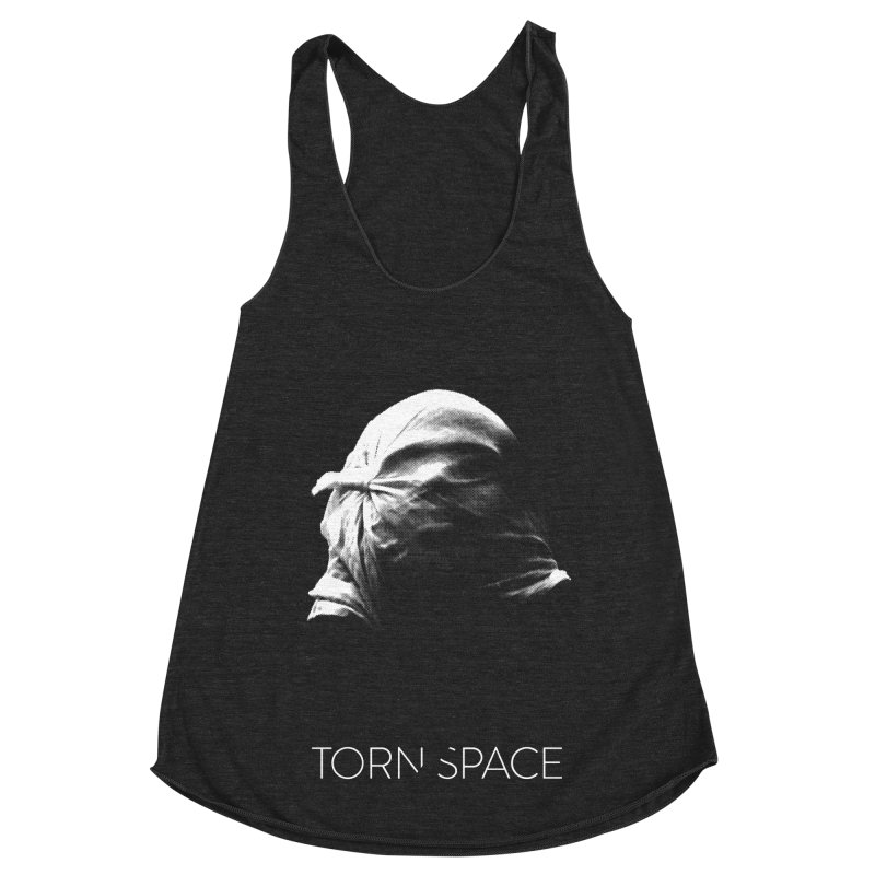 Villager (w/ logo) Women's Racerback Triblend Tank by Torn Space Theater Merch