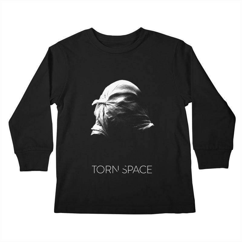 Villager (w/ logo) Kids Longsleeve T-Shirt by Torn Space Theater Merch