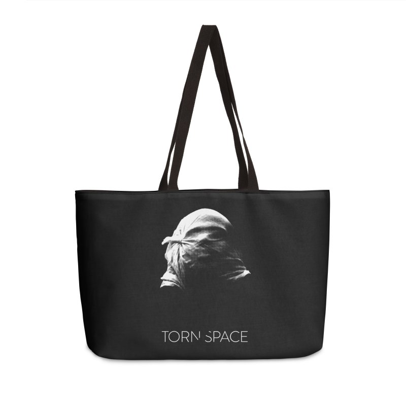 Villager (w/ logo) Accessories Weekender Bag Bag by Torn Space Theater Merch