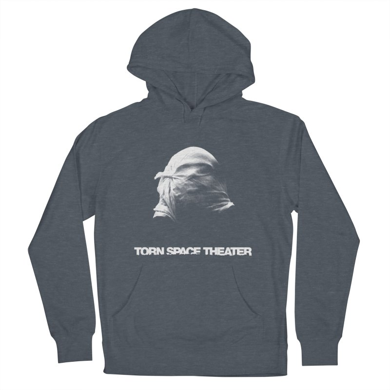 Villager (w/ logo) Men's French Terry Pullover Hoody by Torn Space Theater's Artist Shop