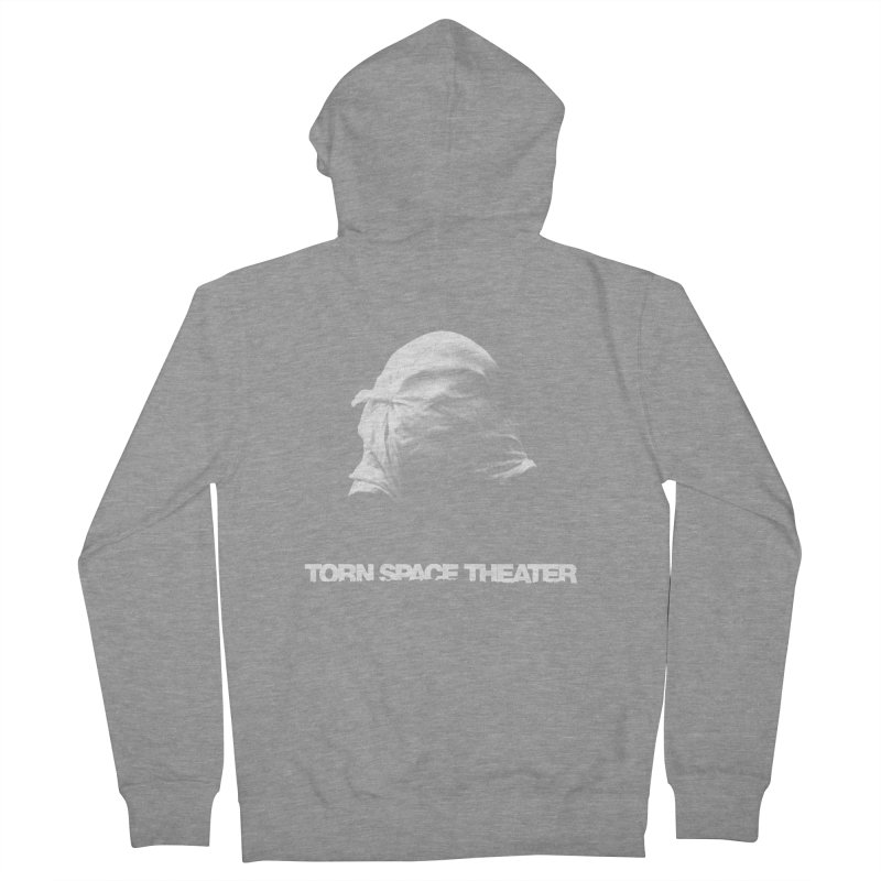 Villager (w/ logo) Women's French Terry Zip-Up Hoody by Torn Space Theater's Artist Shop