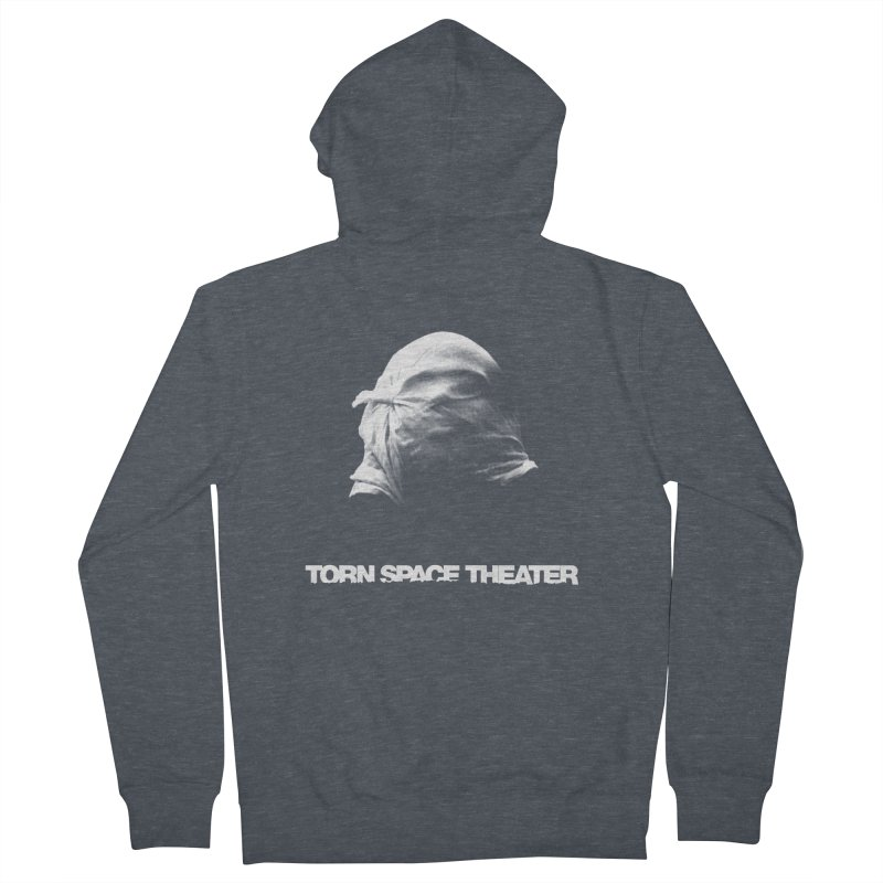 Villager (w/ logo) Men's Zip-Up Hoody by Torn Space Theater's Artist Shop