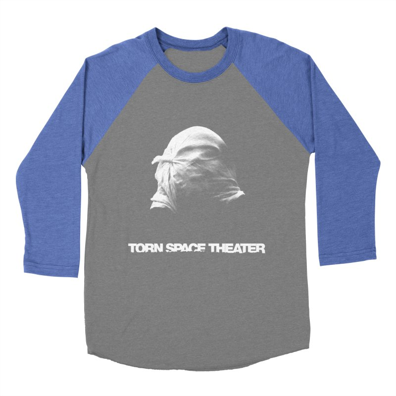 Villager (w/ logo) Men's Baseball Triblend T-Shirt by Torn Space Theater's Artist Shop