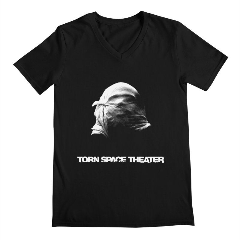 Villager (w/ logo) Men's Regular V-Neck by Torn Space Theater's Artist Shop