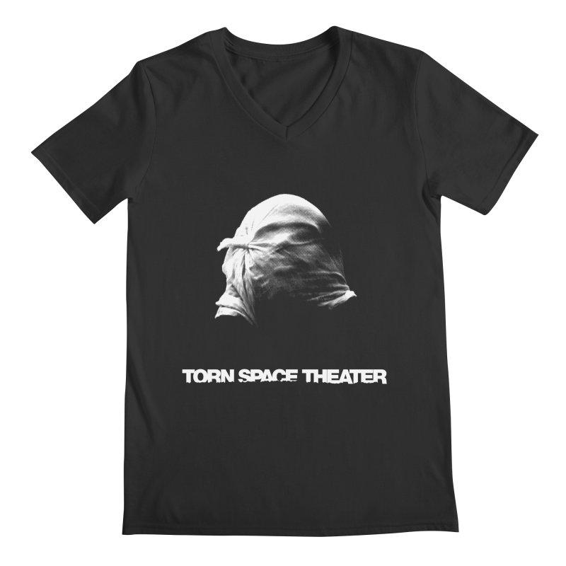 Villager (w/ logo) Men's V-Neck by Torn Space Theater's Artist Shop
