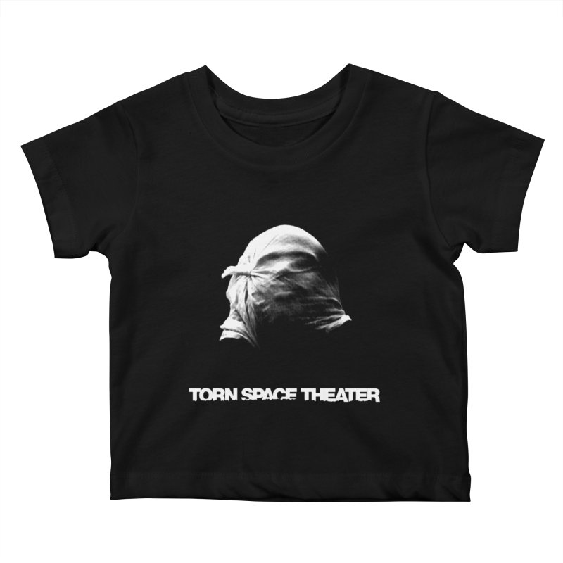 Villager (w/ logo) Kids Baby T-Shirt by Torn Space Theater's Artist Shop