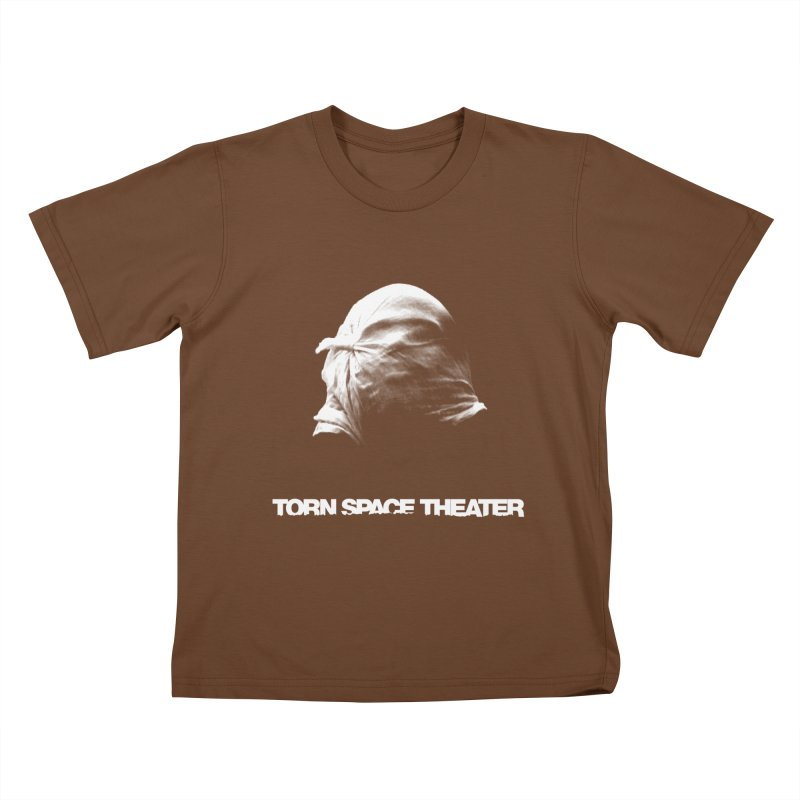 Villager (w/ logo) Kids T-Shirt by Torn Space Theater's Artist Shop