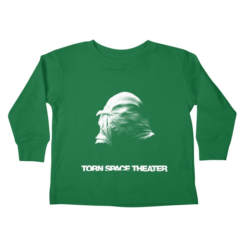 Villager (w/ logo) Kids Toddler Longsleeve T-Shirt by Torn Space Theater's Artist Shop
