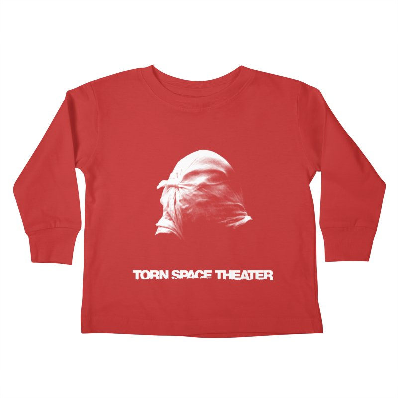 Villager (w/ logo) Kids Toddler Longsleeve T-Shirt by Torn Space Theater's Artist Shop
