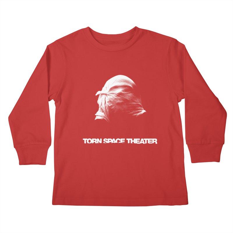 Villager (w/ logo) Kids Longsleeve T-Shirt by Torn Space Theater's Artist Shop