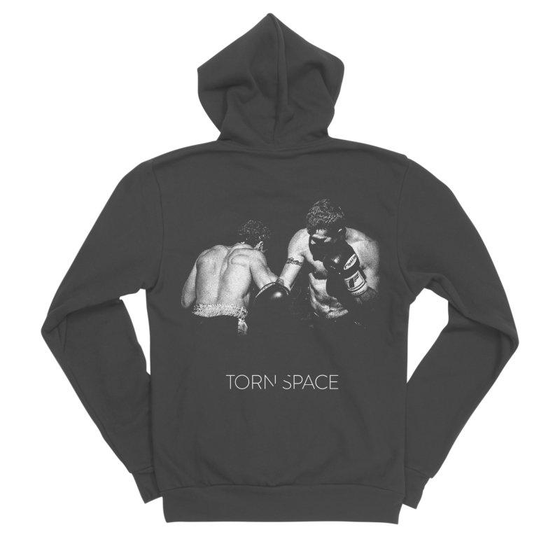 The Boxers Men's Sponge Fleece Zip-Up Hoody by Torn Space Theater Merch
