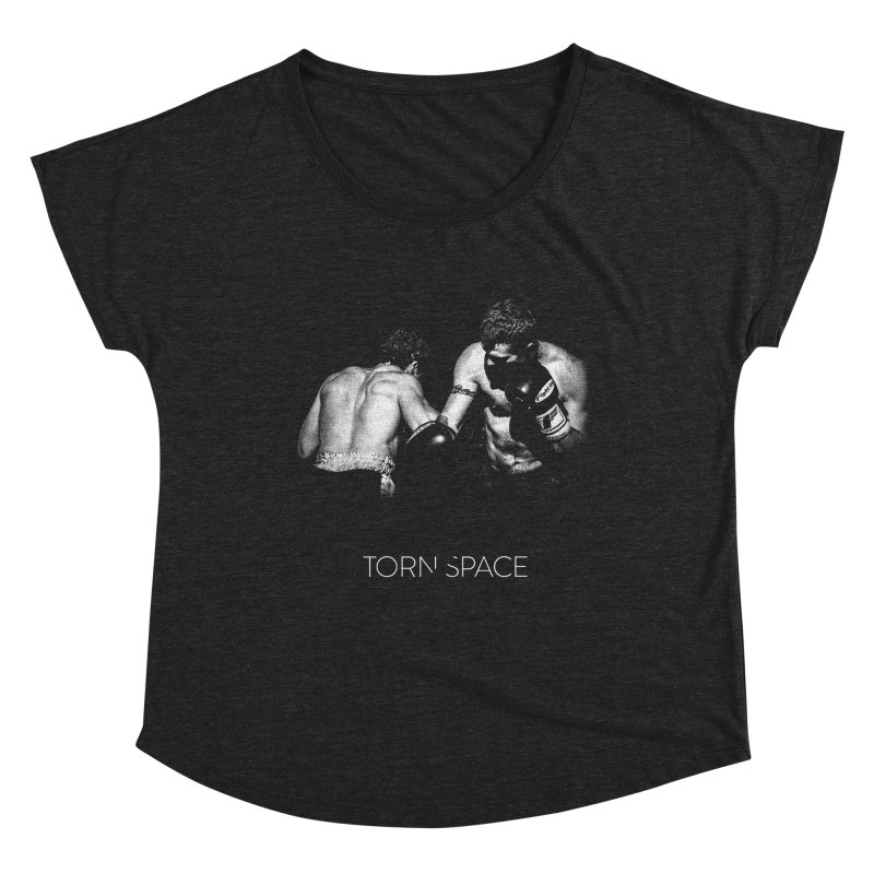 The Boxers Women's Scoop Neck by Torn Space Theater Merch