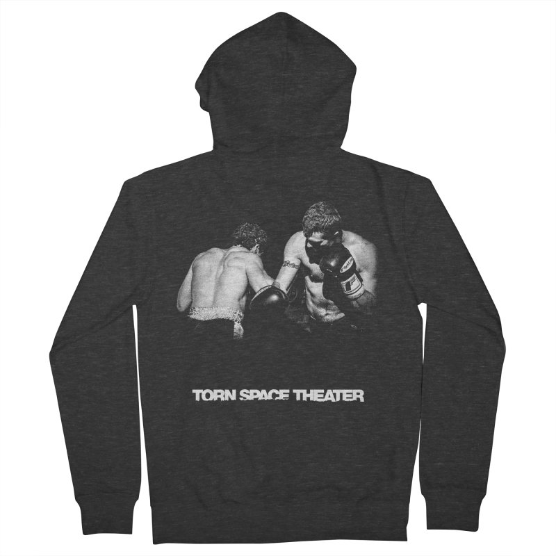 The Boxers Women's Zip-Up Hoody by Torn Space Theater's Artist Shop