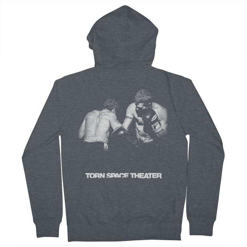 The Boxers Men's French Terry Zip-Up Hoody by Torn Space Theater's Artist Shop