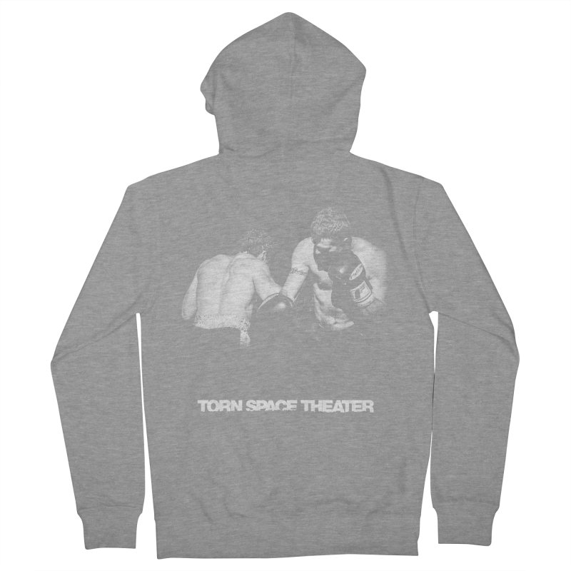 The Boxers Men's Zip-Up Hoody by Torn Space Theater's Artist Shop