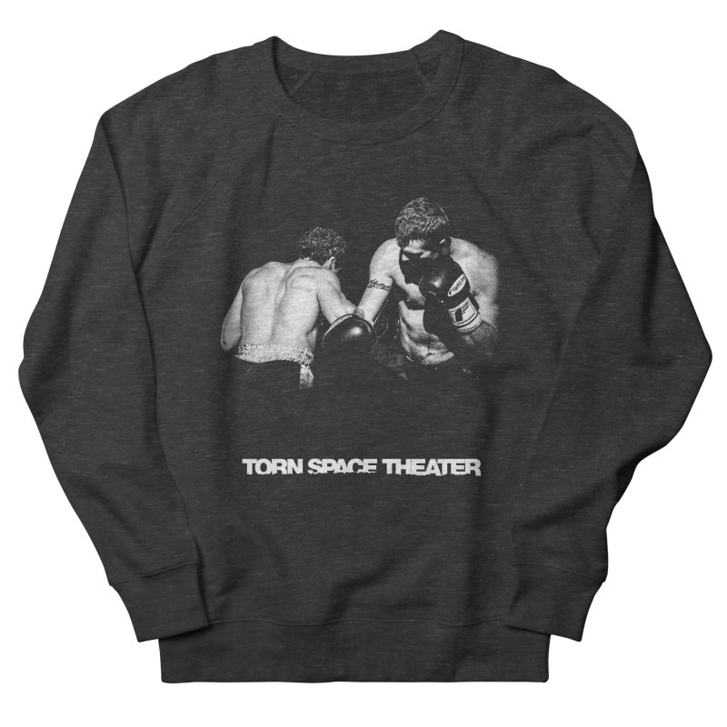 The Boxers Men's French Terry Sweatshirt by Torn Space Theater's Artist Shop