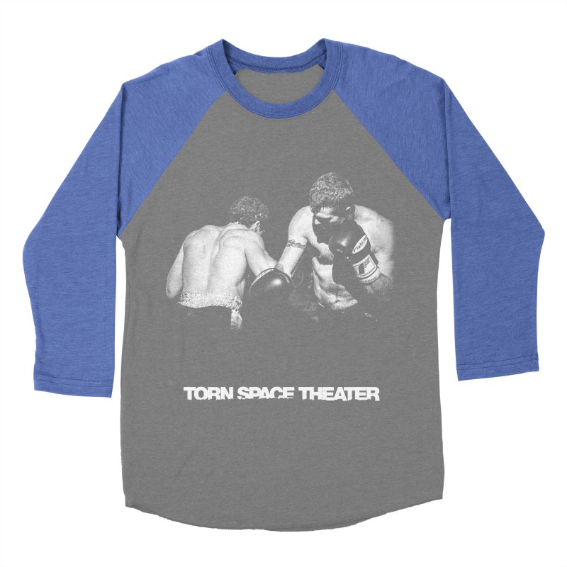 The Boxers Women's Baseball Triblend T-Shirt by Torn Space Theater's Artist Shop
