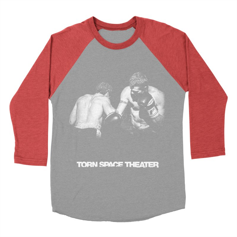 The Boxers Women's Baseball Triblend Longsleeve T-Shirt by Torn Space Theater's Artist Shop